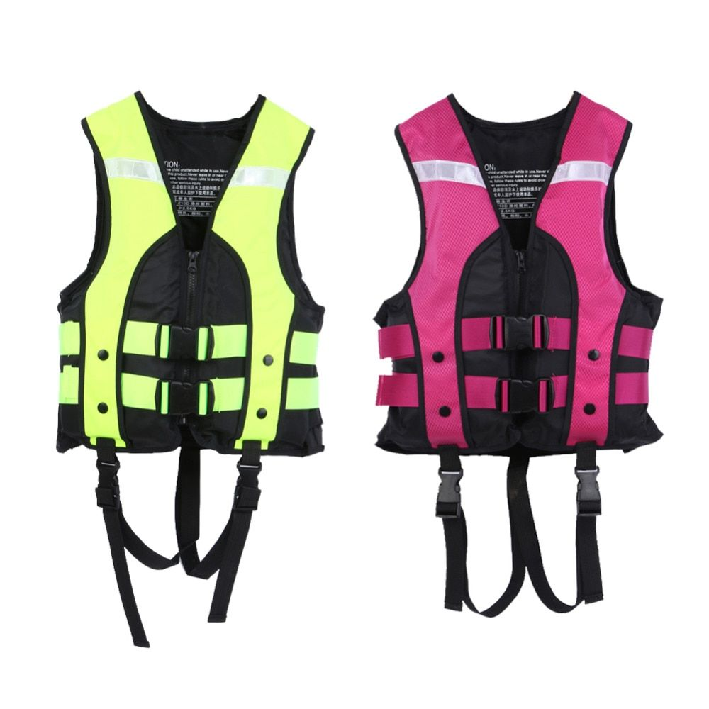 New Professional Child Swimwear Boating Fishing Water Sports Vest Swimming Kids Life Vest Saving Gilet Safety Product