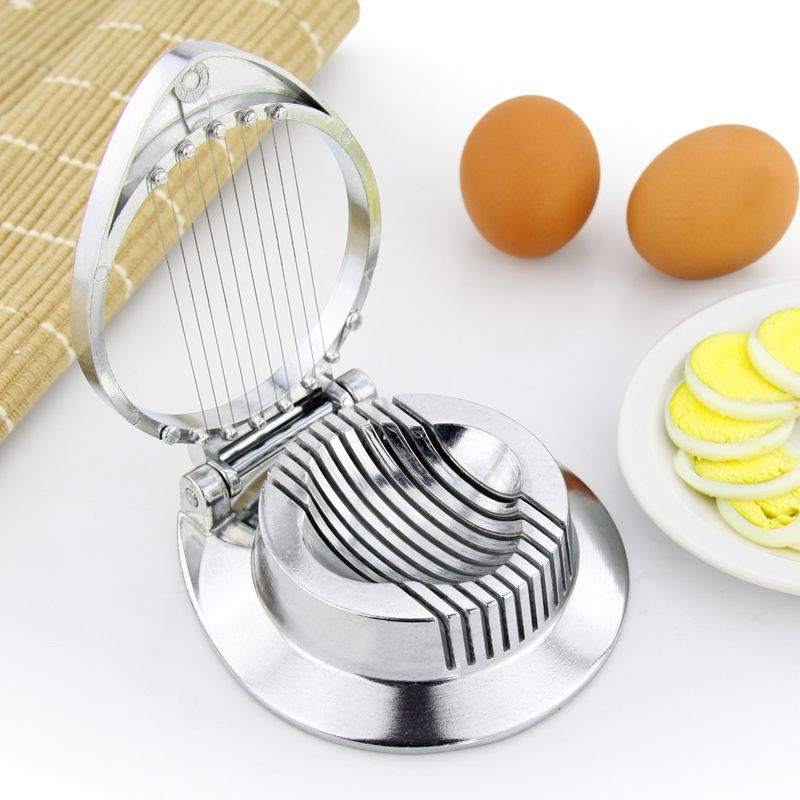 New ideas Fast Egg Slicer Cutter Kitchen Multifunction Small Hand Held Slicer Sectioner Cooking Egg Tool Free Shipping