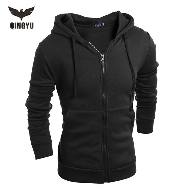 Hot 2018 New Arrival Gary Cotton Men Winter Hoodies Villus Male Sweatshirts High Quality zipper Hooded Brands Men's Coat XXL