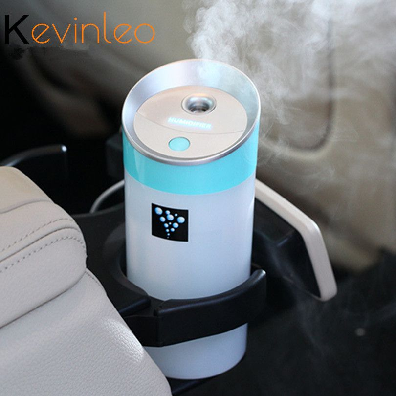 Car Essential Oil Diffuse Humidifier 300ML USB 5V 4Colors Aroma Ultrasonic Mist Make Oil Diffuser Aromatherapy For Car purifier