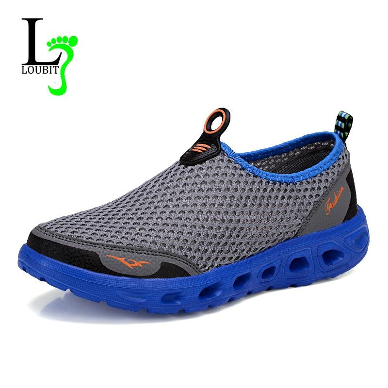 Men Shoes 2019 Fashion Sneakers Brand Mesh Shoes High Quality Breathable Sneakers Slip on Summer Casual Shoes For Men