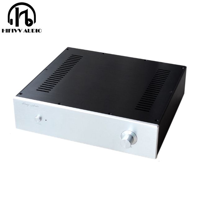 Pure Aluminum Chassis BZ3609 C5200 A1943 ksa50 Amplifier case big chassis class A amplifier alumium chassis size 360*92*308mm