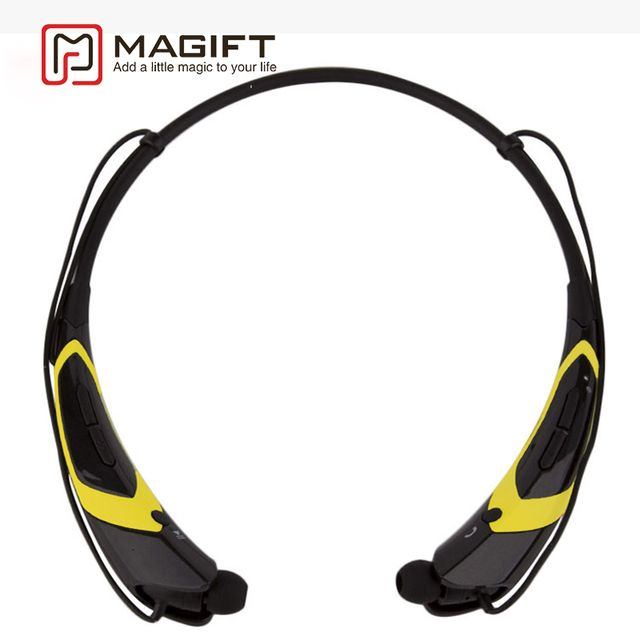 Magift Fashion Headphones for sports HBS760 BluetoothV4.0 Wireless Headphones In ear Stereo Headset with Mic for iPhone7 Samsung