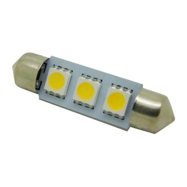 39MM 3*5050 SMD DC12V Car Dome Reading Trunk Light White/Warm White/Blue/Ice Blue/Red/Pink/Green/Yellow 2pcs/lot