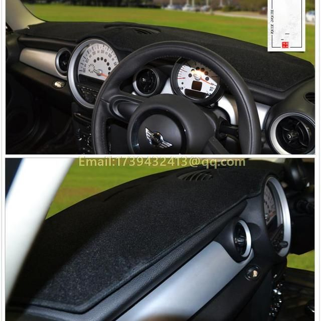 dashmats car-styling accessories  dashboard cover for mini one cooper coupe CLUBMAN COUNTRYMAN PACEMAN PACEMAN R61 R56 F56 RHD