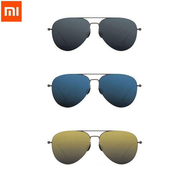 Xiaomi Turok Steinhardt TS Nylon Polarized Stainless Sun Lenses Glasses Colorful RETRO 100% UV-Proof Man Woman For Smart home