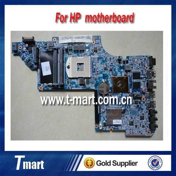 for hp dv6-6000 659147-001 laptop motherboard non-Integrated with 4 video chips working well and full tested