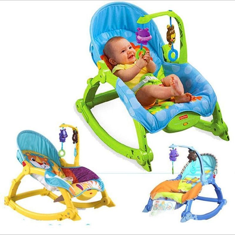 Electric Appease Baby Rocking Chiar Bouncers,Jumpers & Swings Multi-function Cradle Baby Bed&Chair  Wholesale Children's swing