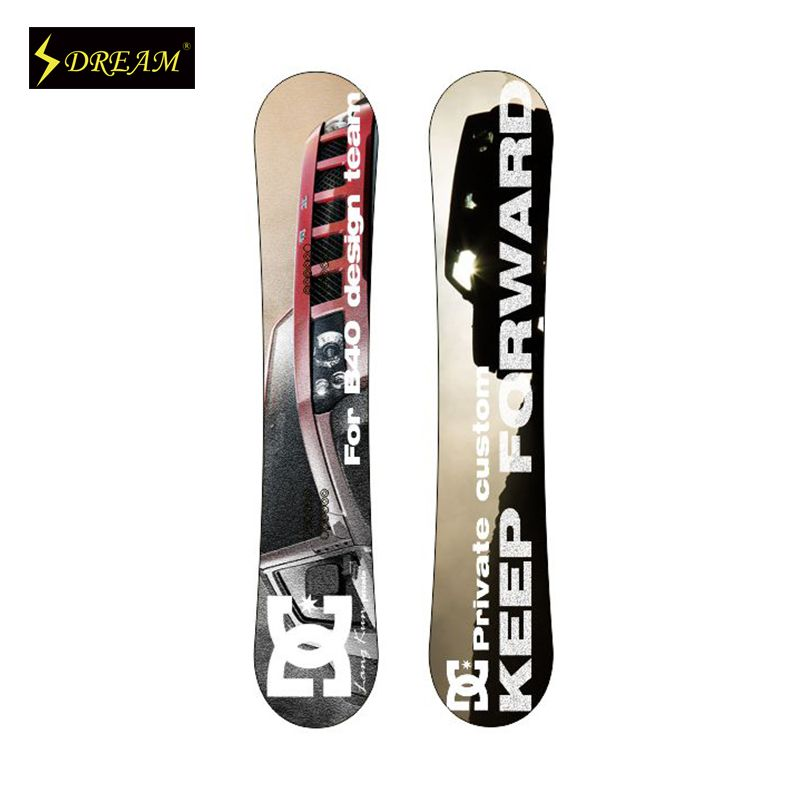 Fashional Freestyle Adults' Snowboards Unisex Skiing Board For Male And Female Freeride For All Mountain Personality Snowboard