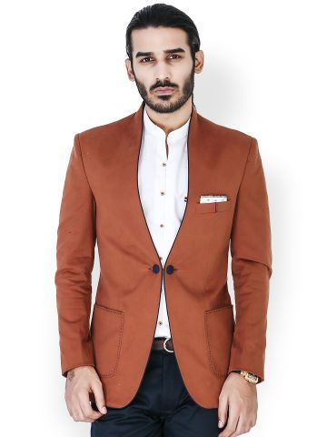 Latest Coat Pant Designs Brown Groom Tuxedos 2 Piece Slim Fit Mens Wedding Prom Party Suits Best Man Suit(Jacket+Pants)terno