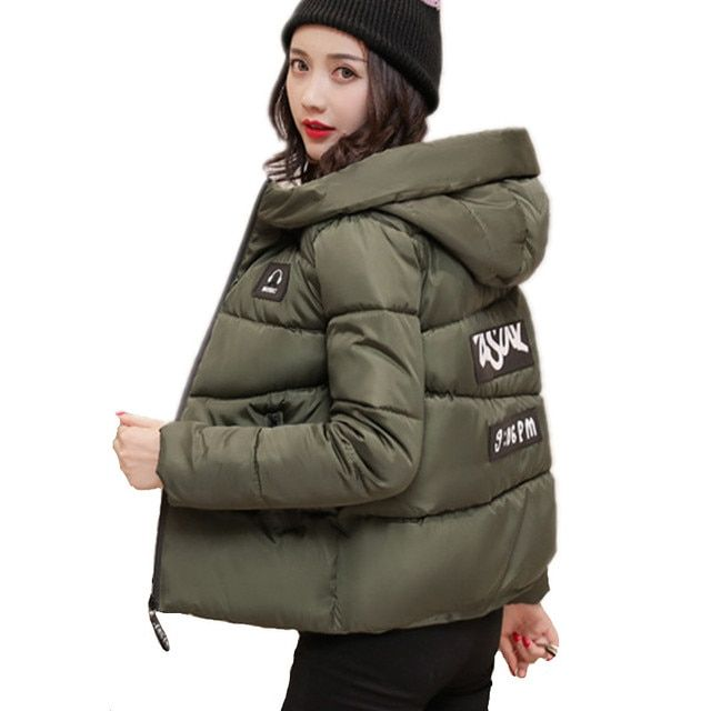 Autumn Winter jacket Women Coat Fashion Female Down jacket Women Parkas Casual Jackets Inverno Parka Wadded