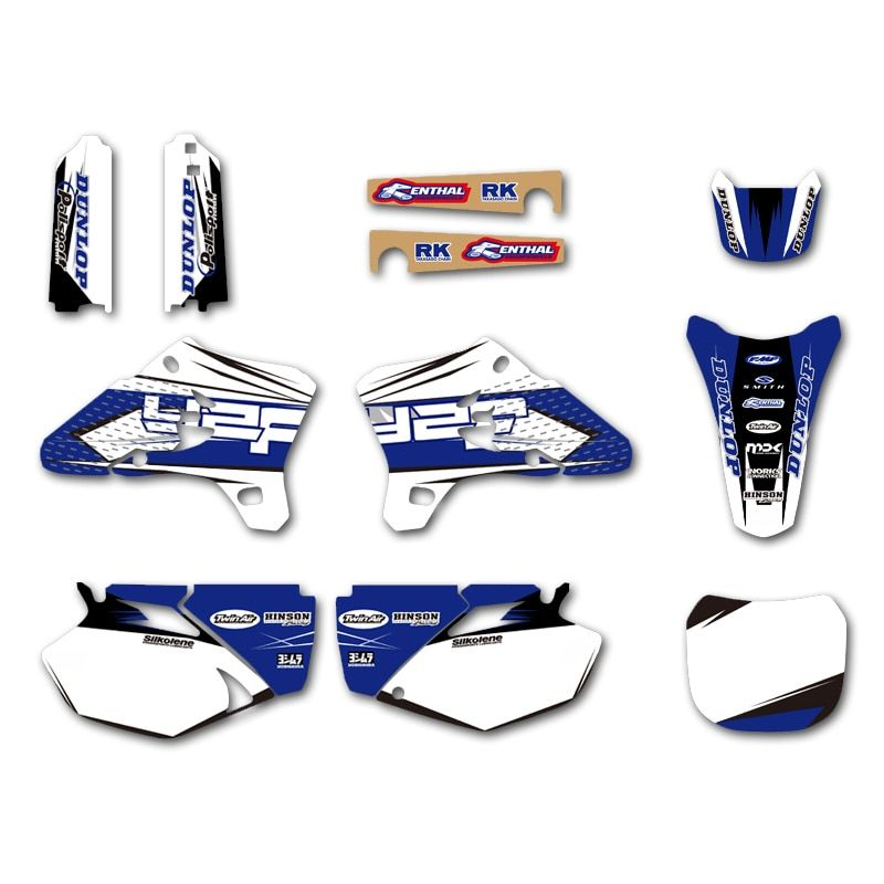 GRAPHICS & BACKGROUNDS DECALS STICKERS Kits for Yamaha YZ250F YZ450F YZF250 YZF450 2003 2004 2005 YZ 250F 450F YZF 250 450