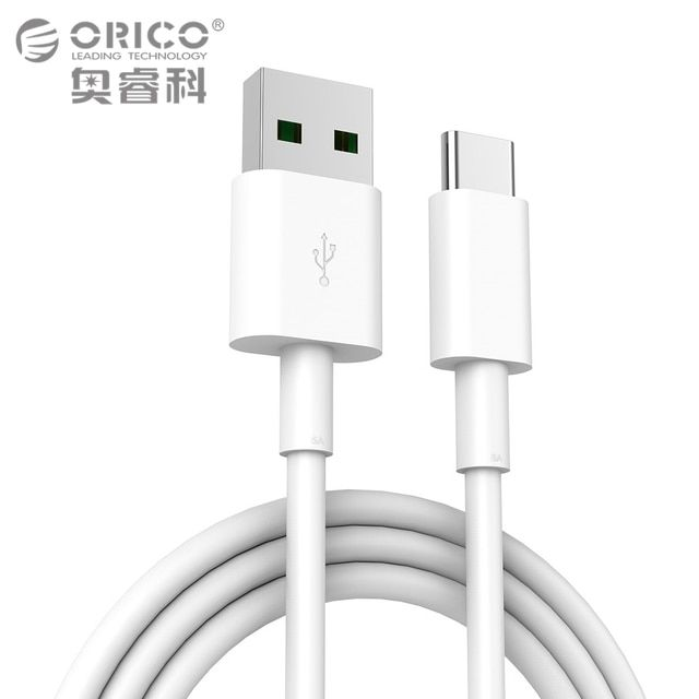 ORICO 5A USB Type C Cable High-speed USB Sync & Charging Cable for Huawei P9 Macbook LG G5 Xiaomi Mi 5 HTC 10 and More