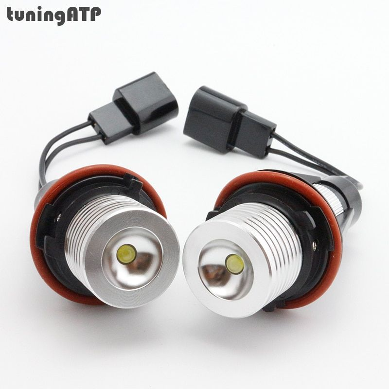 6W Angel Eyes LED Marker for BMW E39 E60 E61 E63 E64 E65 E66 E87 X3 E83 X5 E53 *Optional at White / Blue / Red Light*