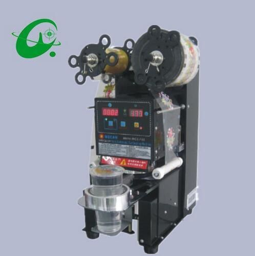 115mm Professional Intelligent Fully automatic Cup Sealing Machine Milk Or Tea Plastic Seamer Packing Machine