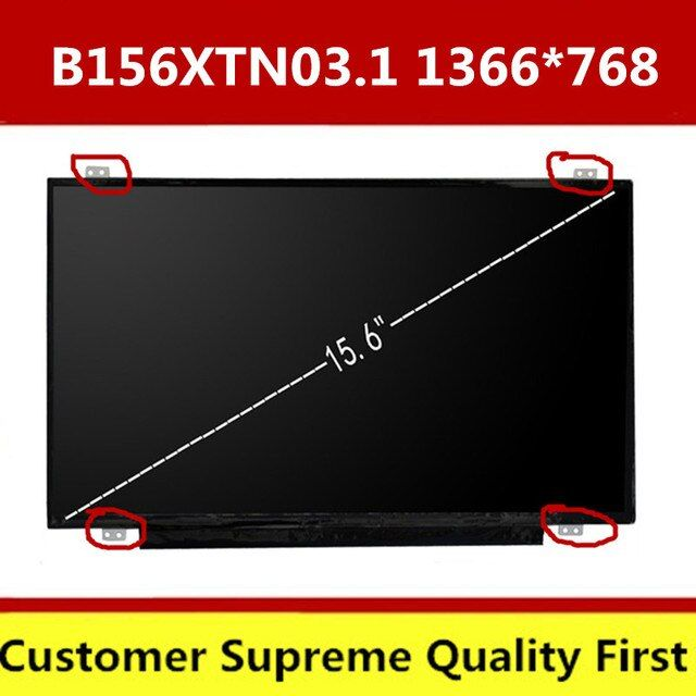 15.6 Ultra Slim LED LCD SCREEN N156BGE-EB1 N156BGE-E41 LP156WHU TPA1 B156XTN03.1 B156XTN03.3 LTN156AT31 B156XW04 V.8 30PIN