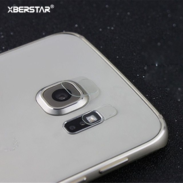 Back Transparent Camera Lens Protective Protector Guard Cover For Samsung Galaxy S7 Edge Plus Tempered Glass Film Clear