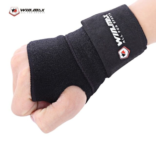 Newest Skiing Wrist Support Hand Palm Protector Snowboarding Guard Brace Sports Safety SBR CR Material Lightweight Black