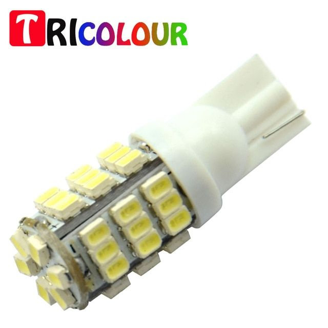 TRICOLOUR 10x T10 1206 42 SMD Auto LED Lamps 42smd DC12V Car Turn Signal Lights Bulb 194 927 161 168 W5W#TB09