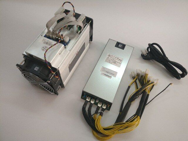 The Asic Bitcoin Miner WhatsMiner M3 10.5TH/S ( max 11.5T/S) 0.17 kw/TH better than Antminer S7 ,Include psu,its a economy miner