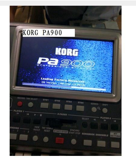 "KORG PA-900 PA900 Keyboard high quality 7"" LCD DISPLAY PANEL LCD screen Test everything properly transmit Free shipping"
