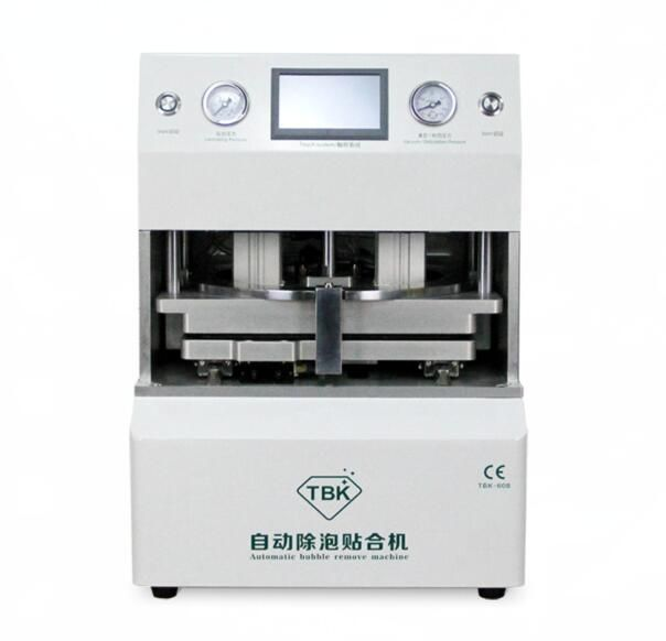 high quality Automatic OCA Vacuum Laminating machine+ Bubble Removing Machine for LCD Touch Screen Repair Tool TBK-608