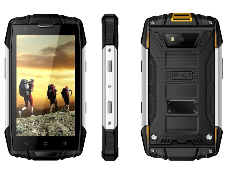 original Kcosit S951 IP68 Waterproof phone Shockproof Dustproof Rugged Android 5.1 Smartphone MTK6580 1GB RAM Mobile Phone GPS