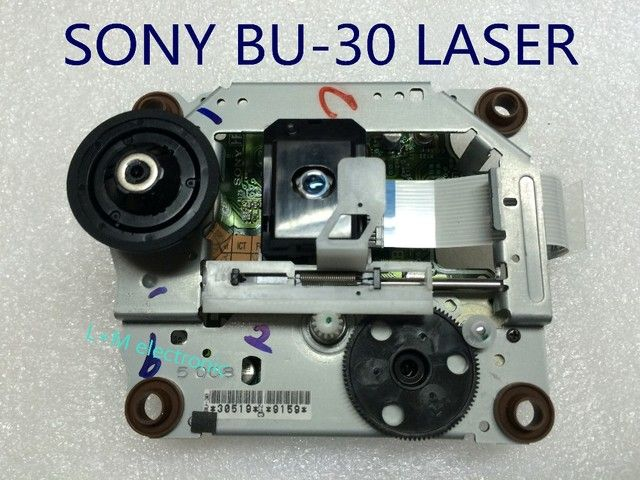 5pcs/lot Brand New SONY  SOH-BU30  BU-30  SOHBU30  BU30  Radio DVD Player Laser Lens Optical Pick-ups  with Mechanism