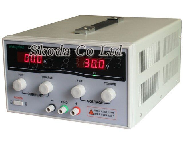 KPS1550D high precision Adjustable Digital DC Power Supply 15V/50A for scientific research Laboratory Switch DC power supply