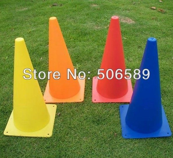football training obstacles 10 pcs/lot environmental plastic height 23cm
