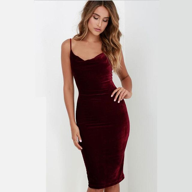 Vestidos De Fiesta New Direct Selling None Plus Size Neckline High Quality Sexy Women Bodycon Bandage Backless Solid Color