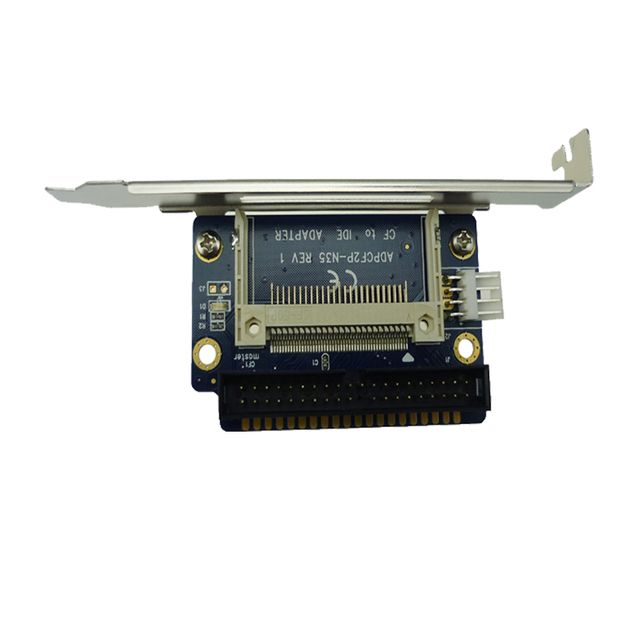 Hot-sale CF To 40 Pin Male IDE Adapter PCB Converter As 3.5 IHDD Drive For Laptop one single CF card Type I/II 1 pc ADP00208