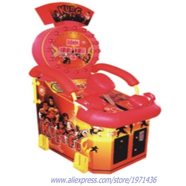 Amusement Redemption Tickets Coin Operated Boxing Arcade Game Machine