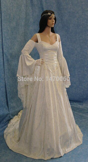 Princess White Off-the-Shoulder Velvet Fancy Sexy  Medieval Period Gown Dress Wedding Theater Reenactment  Cosplay Costume