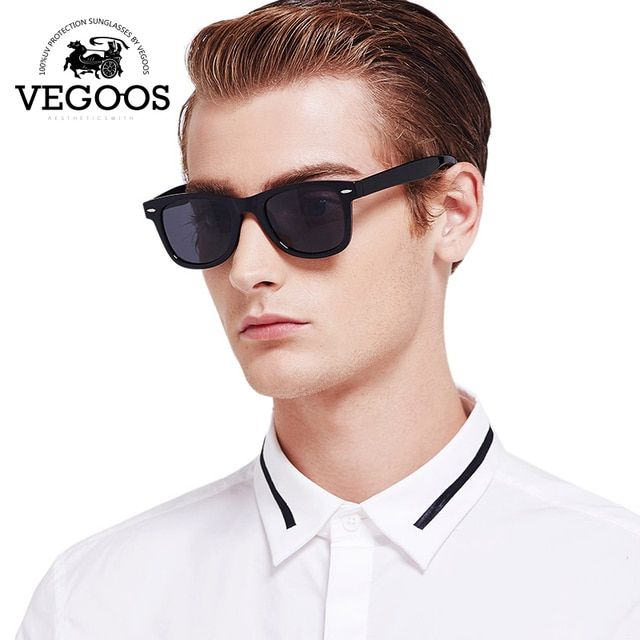 VEGOOS Real Polaroized Sunglasses Women & Men for Lovers De Sol Masculino Eyewear Motorcyc oculos de sol feminino #6106