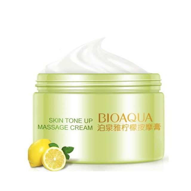 New Lemon Oil-Control Anti-Aging Cream Face Body Cream Ageless Massage For Face Collagen Day Cream For Anti-Wrinkle Skin Care