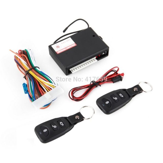 Universal Car Remote Central Kit Door Lock Locking Vehicle Keyless Entry System Car Accessiores Hot selling~