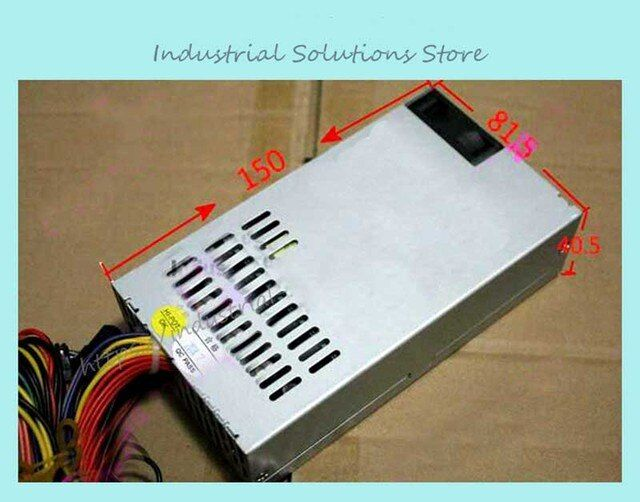 Pos Power Supply Small 250PSU 1u Power Supply Small Computer Case Pos Machine 1u Computer Case 250w Power Supply USED
