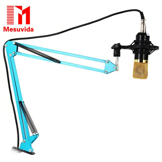 Mesuvida NB-35 Stand Holder Adjustable Microphone Professional Studio Sound Recording Condenser Karaoke Wired Mic Stand Holder