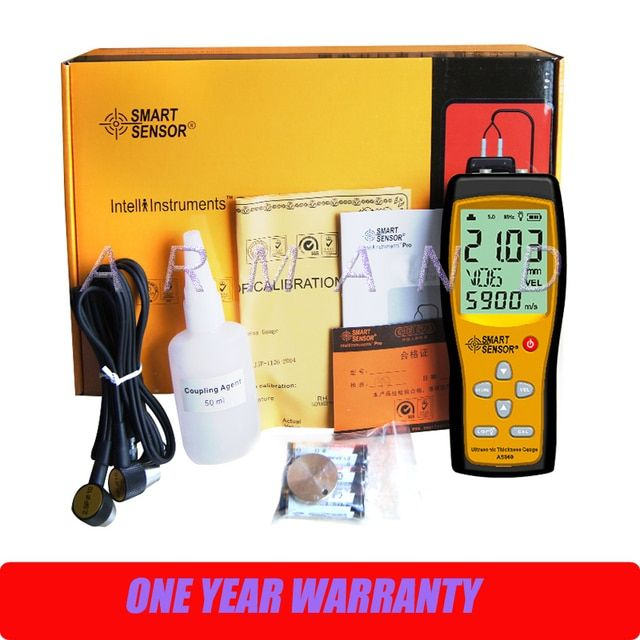 AS860 Ultrasonic Thickness Gauge Smart Sensor Digital Thickness meter