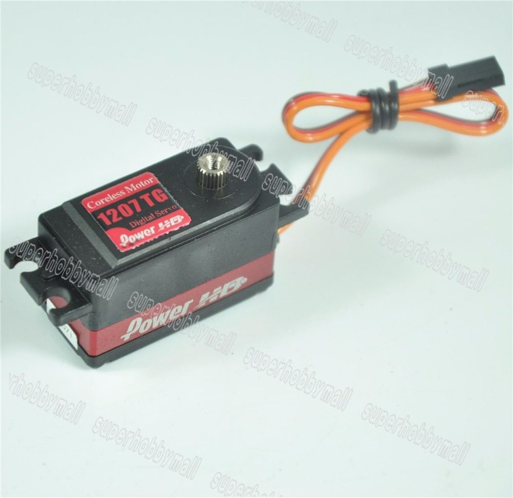 Power HD 1207TG Standard Low Profile Digital Coreless High Speed Servo For RC Airplane