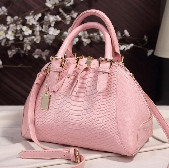 Classic Eroupe Style Luxury Handbags Women Shell Bags Serpentine Shoulder Crossbody Bags Top Handle High Quality Sac Cuir Femmes