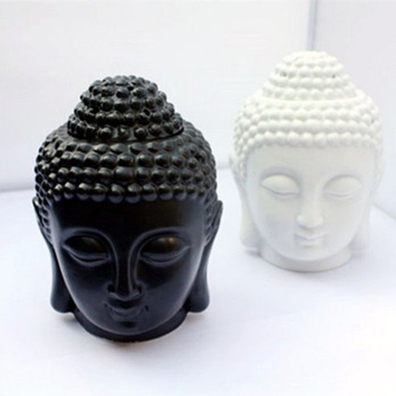 Buddha candle aromatherapy furnace ceramic aromatherapy lamp candle aroma furnace oil lamp essential oil burner home decor gifts