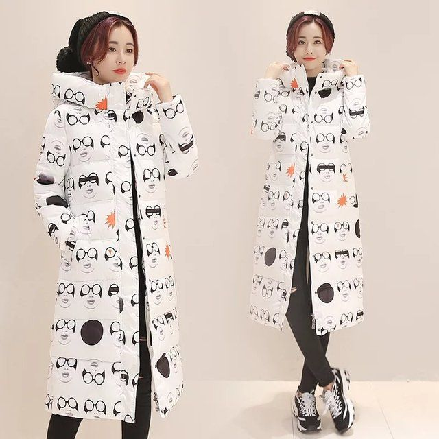 2016 New Korean Winter Women Coat Elegant Character Thick Warm Hooded Down Cotton Jacket High quality Large size Female Coat