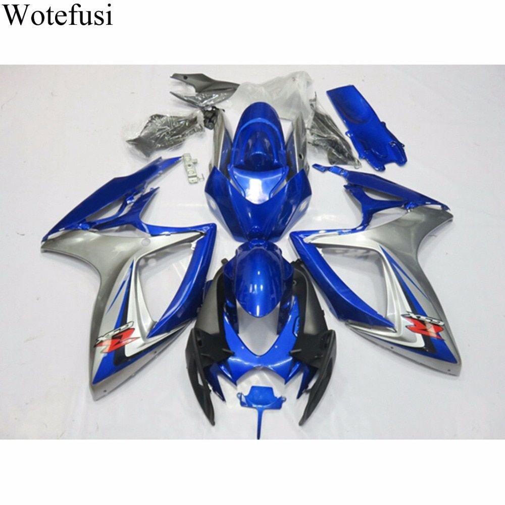 Wotefusi New UV Paint ABS Injection Bodywork Fairing For Suzuki GSXR 600 GSXR750 K6 06-07  2006 2007 [CK1374]