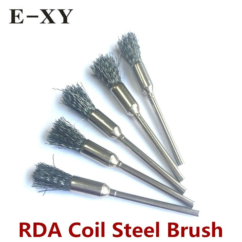 RDA Coil Steel brush Atomizer Tanks Heating Wire Cleaning  Vape Accessories E-Cig DIY tools For RTA RDTA Rebuildable Coils