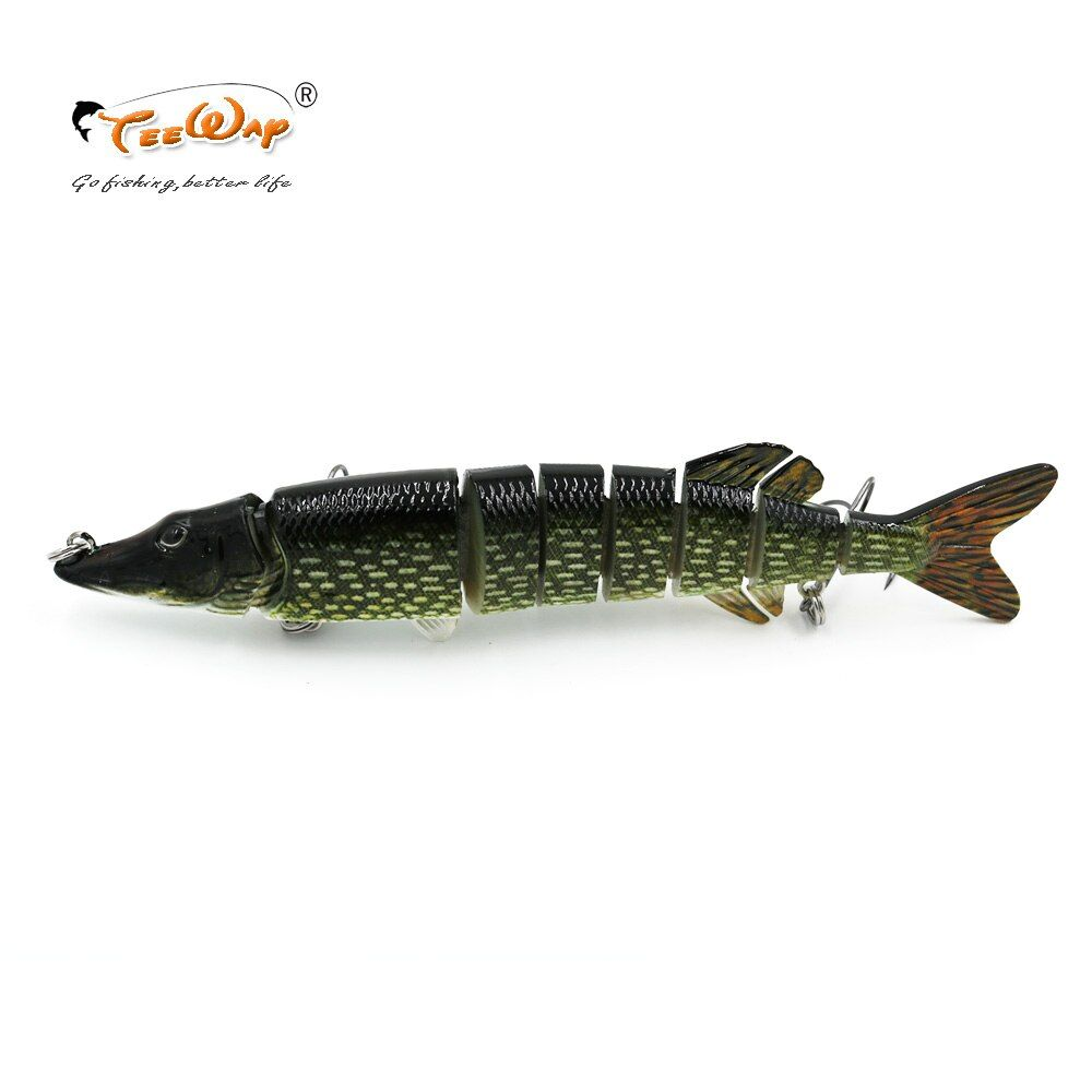 8'' 66g Fishing Lure Pesca Swimbait Pike Muskie Hard Lure Fishing Treble Hook Crankbait Isca Artificial Fishing Tackle Bait