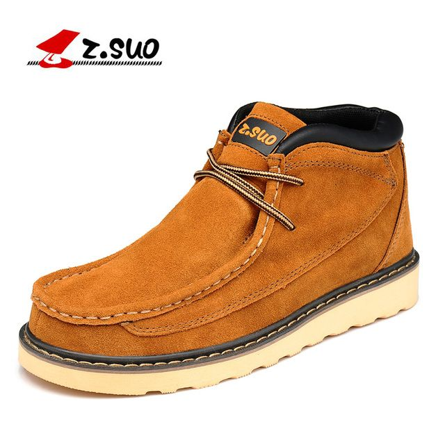 Z. Suo men 's shoes,plush leather shoes,both men and men leisure fashion shoes in fall and winter,zapatos de invierno zs020