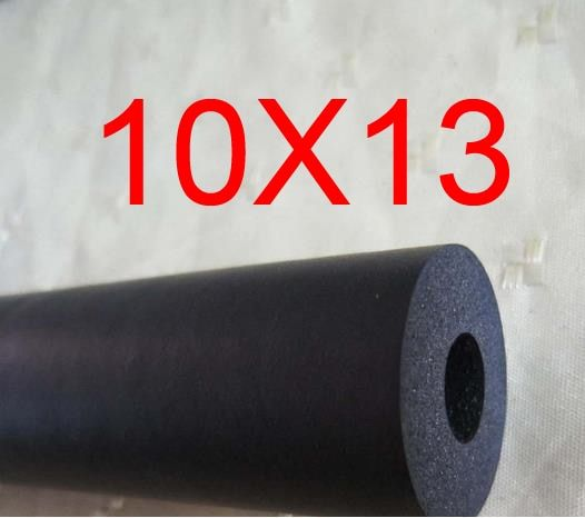 10mm ID 13mm OD NBR tube,Nitrile butadiene rubber tubing, resistance to Diesel, petrol, lubricating oil resistant flexible pipe