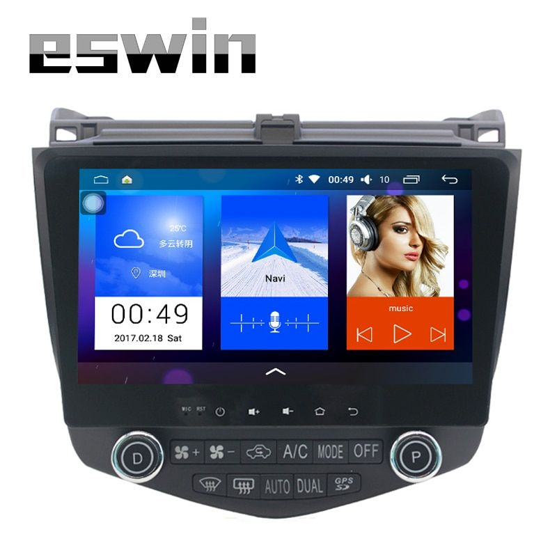 "Android 5.1.1 1024*600 Quad core 10.1"" android Car radio GPS Navigation for HONDA Accord 7 2003-2007 Built-in Bluetooth FM SD"